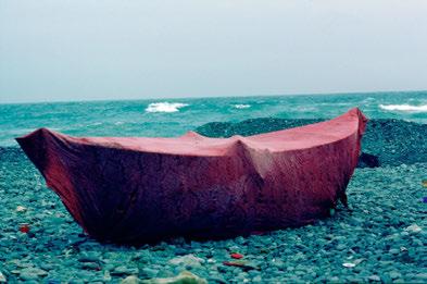 Geweihtes Fischerboot. Kanarische Inselns, 1982. © Ulrike Ottinger