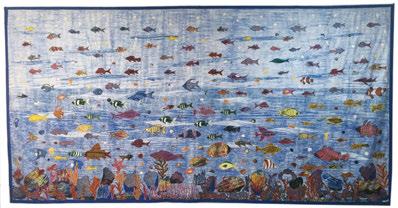 Ocean Mother and Life 2015. © Abdoulaye Konaté